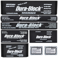 Dura-Block 6 piece Hook & Loop Kit - AF44HA