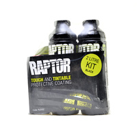 Upol Raptor Liner 2 Litre Kit - Black