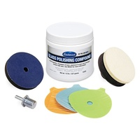 Pro Glass Polishing Kit for Deep Scratches
