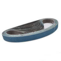 Sanding Belt 120 GRIT 10x330mm (10 pack)