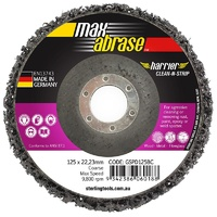Surface Preparation Clean & Strip Disc 125mm Black Coarse
