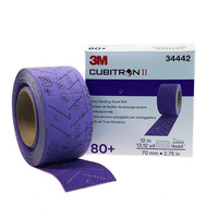 3M Clean Sanding Sheet Roll 80+, 70mm, 34442