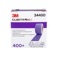3M Cubitron II Clean Sanding Sheet Roll P400