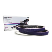 3M Cubitron II File Belt 36+ 20mm x 520mm (10PK)