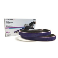 3M Cubitron II File Belt 80+ 20mm x 520mm (10PK)