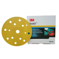 3M Gold Hookit Abrasive Disc P320, 36128 (25 PC)