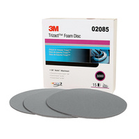 3M 02085 Trizact Foam disc P3000 150mm (15PK)