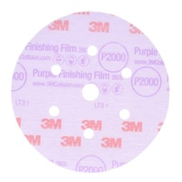 3M Purple Finishing Film Disc P2000, 30766 (25PK)
