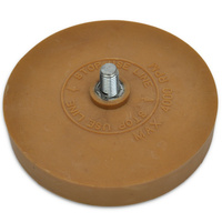 "Rubber Eraser Wheel 3.5""/90mm"
