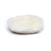 Wool buff pad 3""
