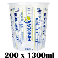 200 x 1300ml Mixing Cups (Size C)