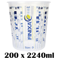 200 x 2240ml Mixing Cups (Size D)