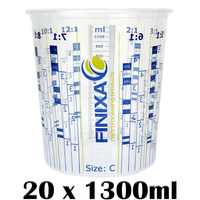 20 x 1300ml Mixing Cups (Size C)