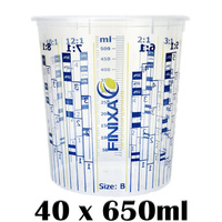 40 x 650ml Mixing Cups (Size B)