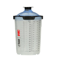 3M PPS 2.0 Spray Cup System 850ml 125 micron (50)