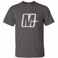 "Melomotive ""M"" Light Grey/White - X LARGE"