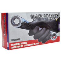Black Rocket Gloves L