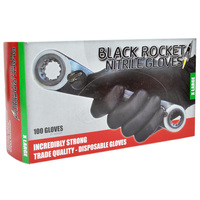 Black Rocket Gloves XL