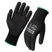 Stealth Gloves Black size 9 Large