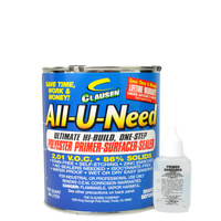 All-U-Need Polyester Primer 950ml - Dark Grey