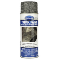 Trunk Splatter Paint Gray/Black Aerosol