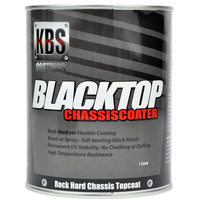 KBS Blacktop Chassiscoater - Gloss Black 1 Litre