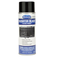 Radiator Black Paint Aerosol - Gloss 340g
