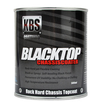 KBS Blacktop Chassiscoater - Gloss Black 500ml