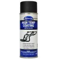 Satin Black Hi-Temp Coating Aerosol