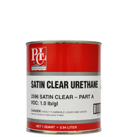 Satin Clear Urethane - Part A (946ml)
