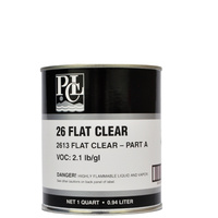 Fast Dry Flat Clear Urethane - Part A (946ml)