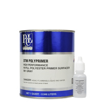 DTM Polyprimer Gray Quart 946ml
