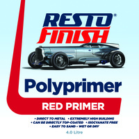 RestoFinish Polyprimer Red 1 Litre