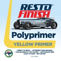RestoFinish Polyprimer Yellow 1 Litre