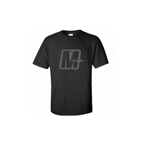 "Melomotive ""M"" Black/Grey - X LARGE"