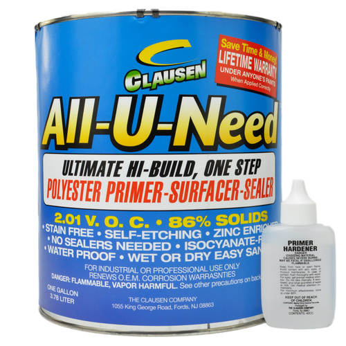 All-U-Need Polyester Primer 3.8L - Red